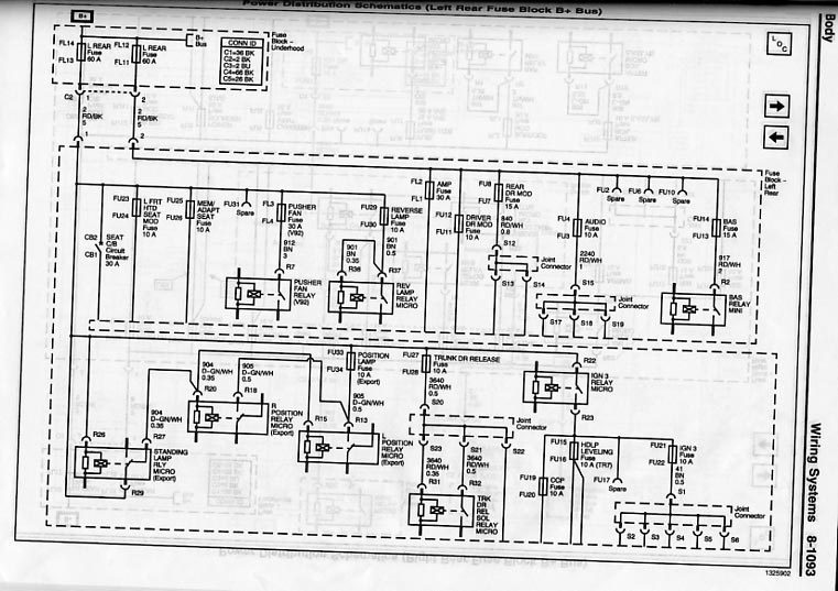 Wiring Diagram Cadillac Cts 2005 - Diagram Schematic Ideas on
